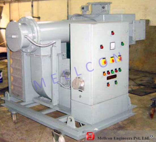 Hot Air Blowing Equipment