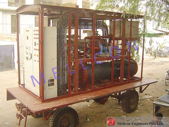 Mobile Water Chiller Plant